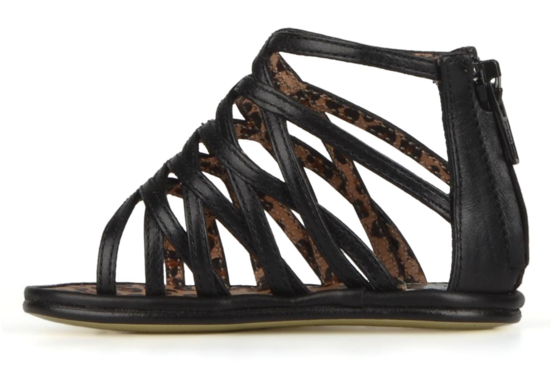 Sandales et nu-pieds Free Lance BB TWILY CAGE SANDAL Noir vue face