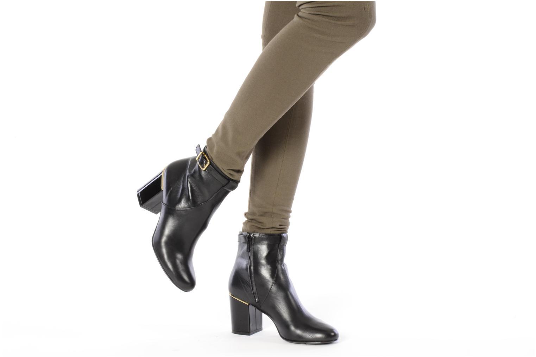 Bottines et boots Clergerie Hut Noir vue bas / vue portée sac
