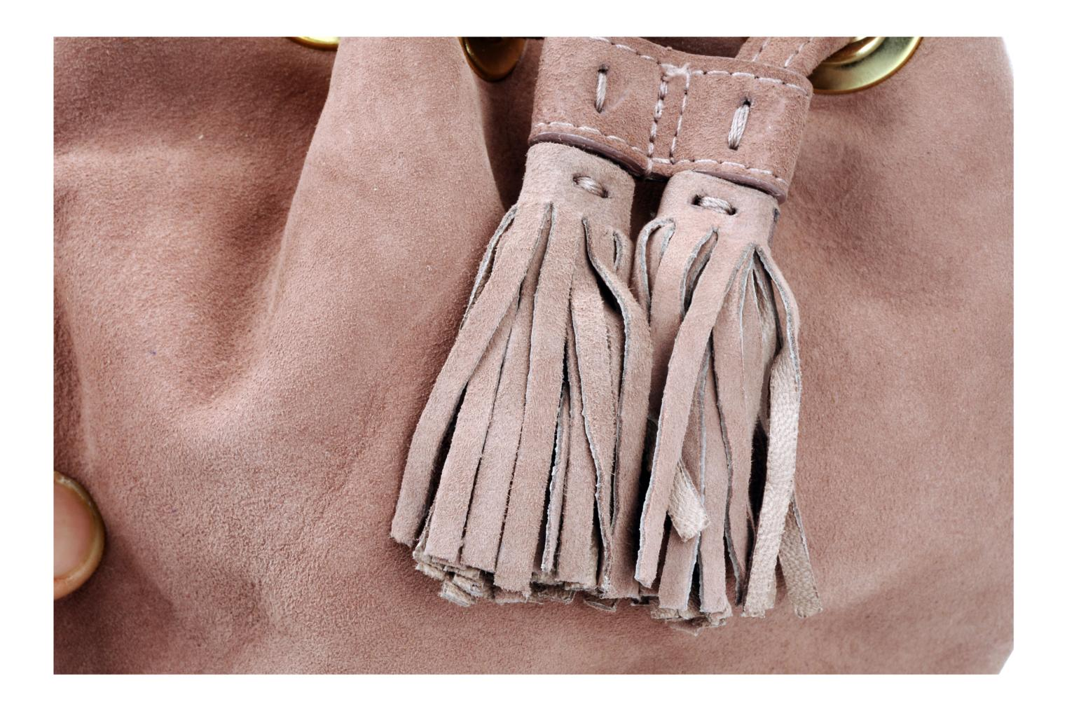 Handbags Unisa Zclavel Pink view from the left