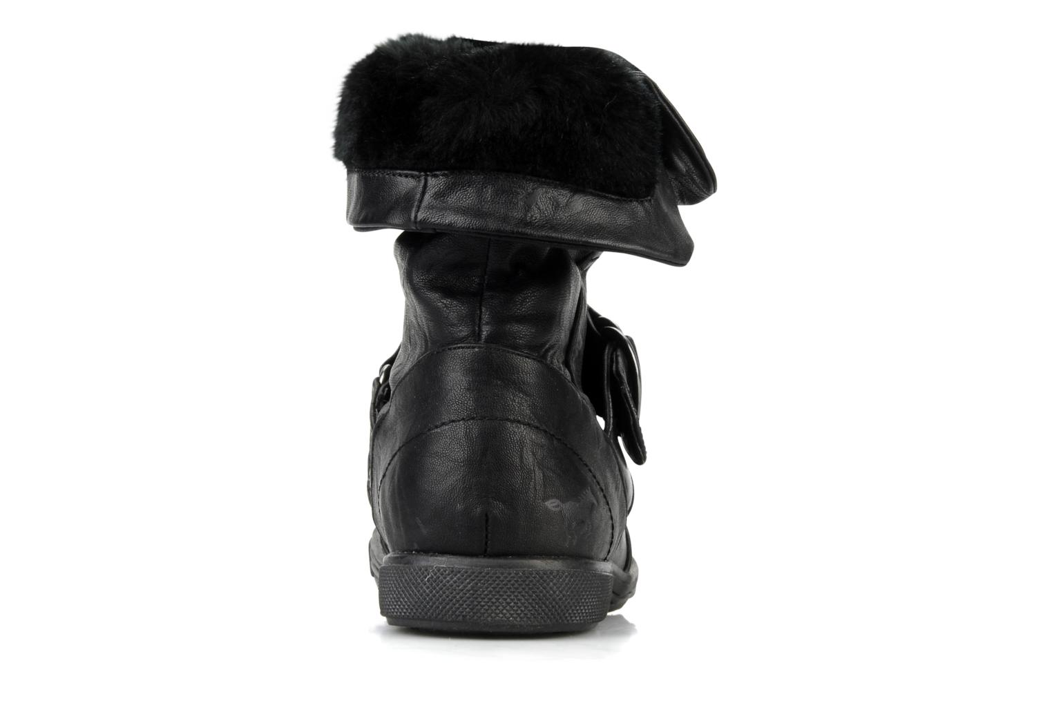 Ankle boots Mustang shoes Kevia Black view from the right