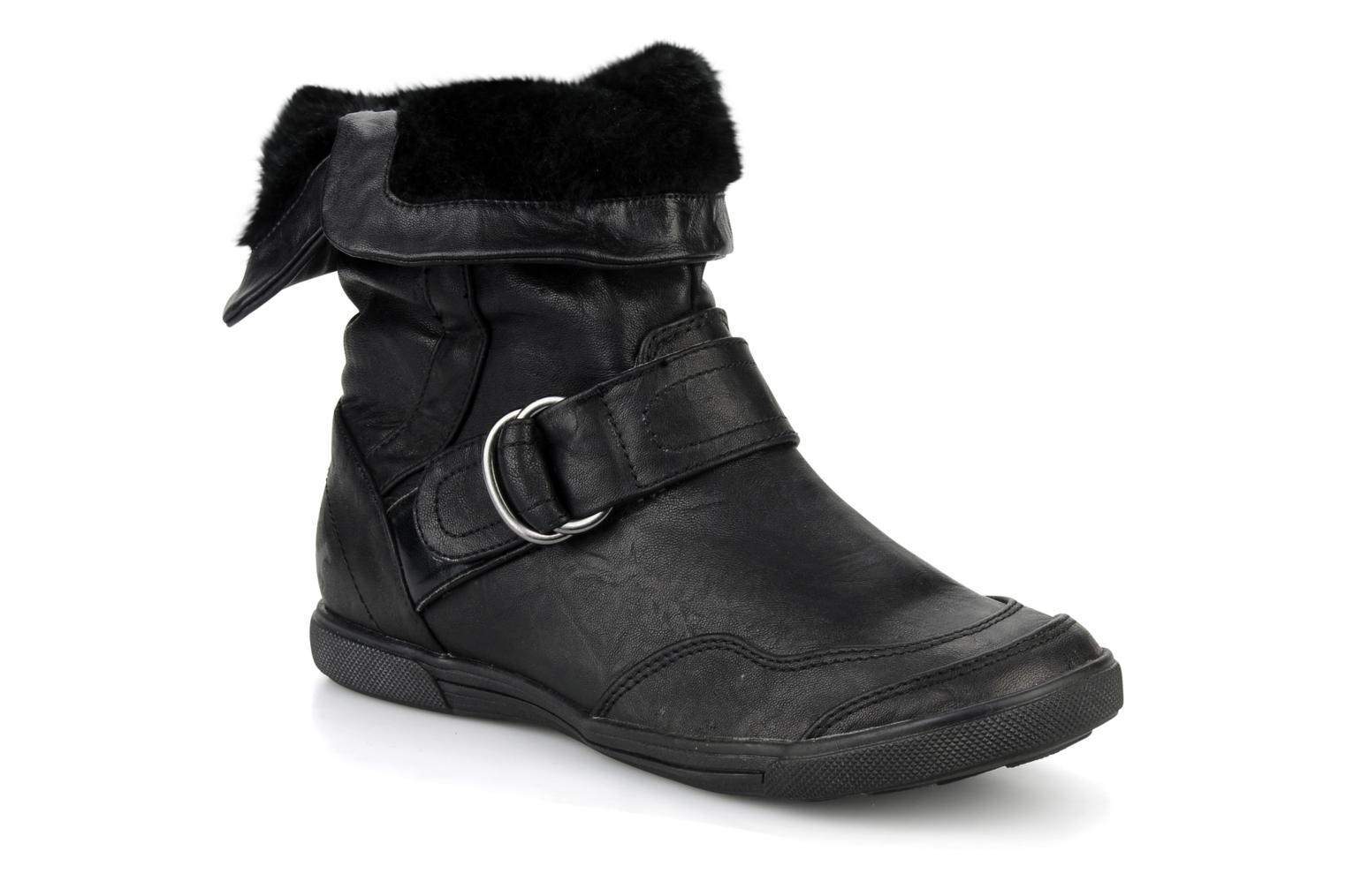 Ankle boots Mustang shoes Kevia Black detailed view/ Pair view