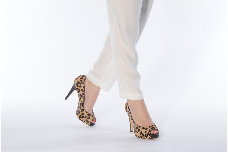 Zapatos de tacón COSMOPARIS Gabia Multicolor vista de abajo