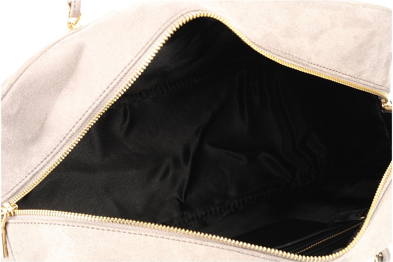 Borse Love Moschino Mono quilt shoulder Beige immagine posteriore