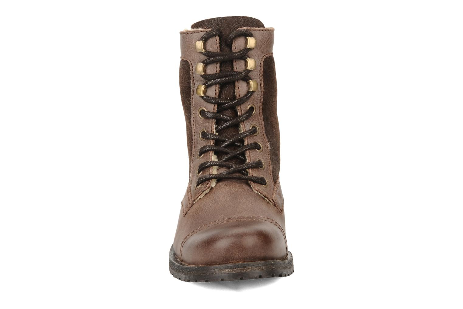 Ankle boots Buffalo Chuppa Brown model view