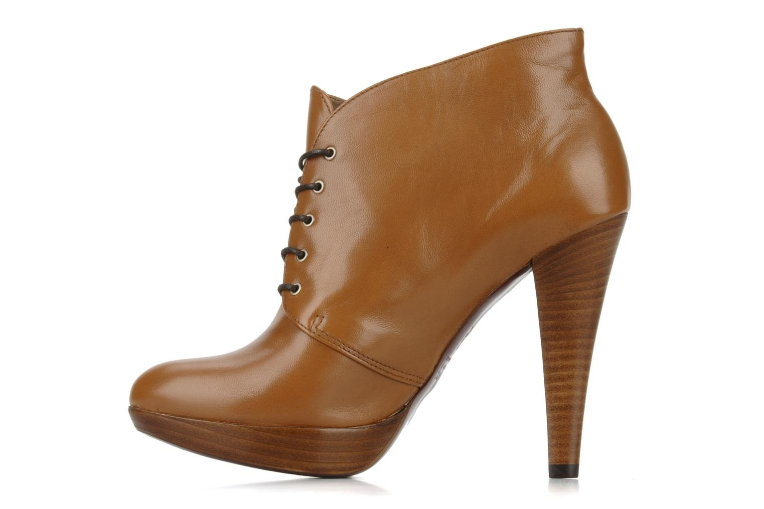 Ankle boots Geox Donna keira c Brown front view