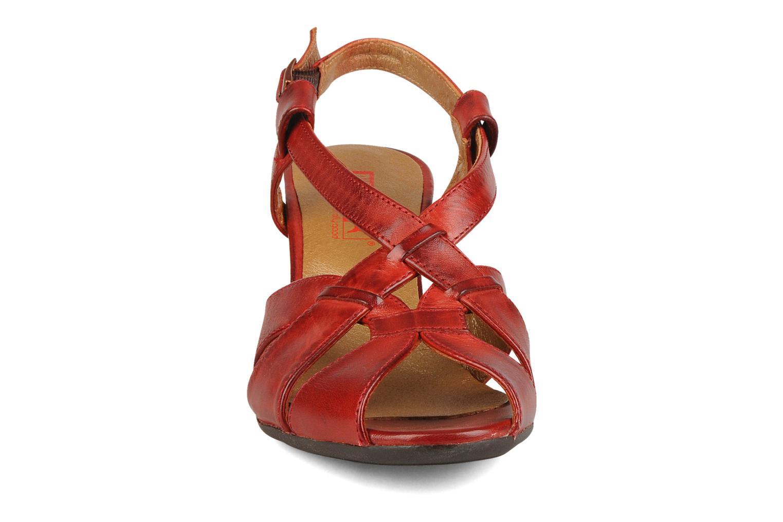 Sandales et nu-pieds Pikolinos Niza 7141 Bordeaux vue portées chaussures
