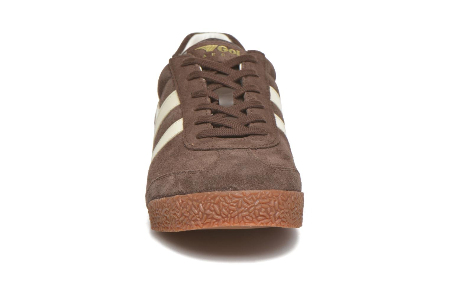 Harrier m Dark Brown Ecru
