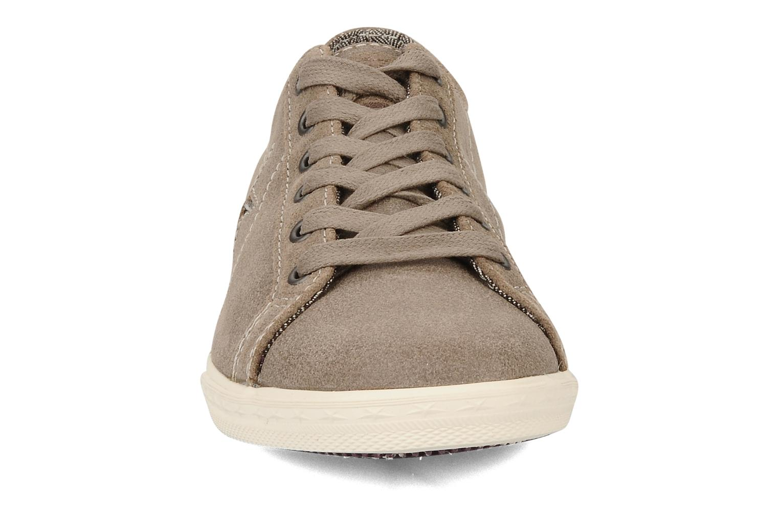 Trainers Converse One star low profile suede ox w Beige model view