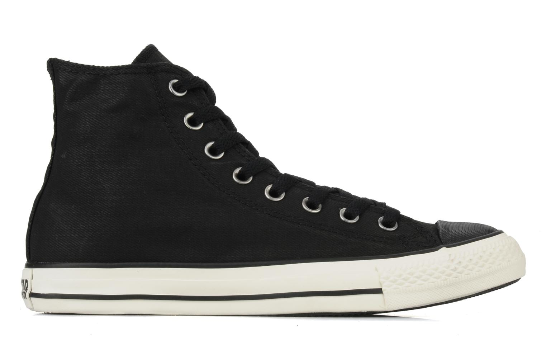 Baskets Converse Chuck taylor all star coated twill textile hi m Noir vue derrière