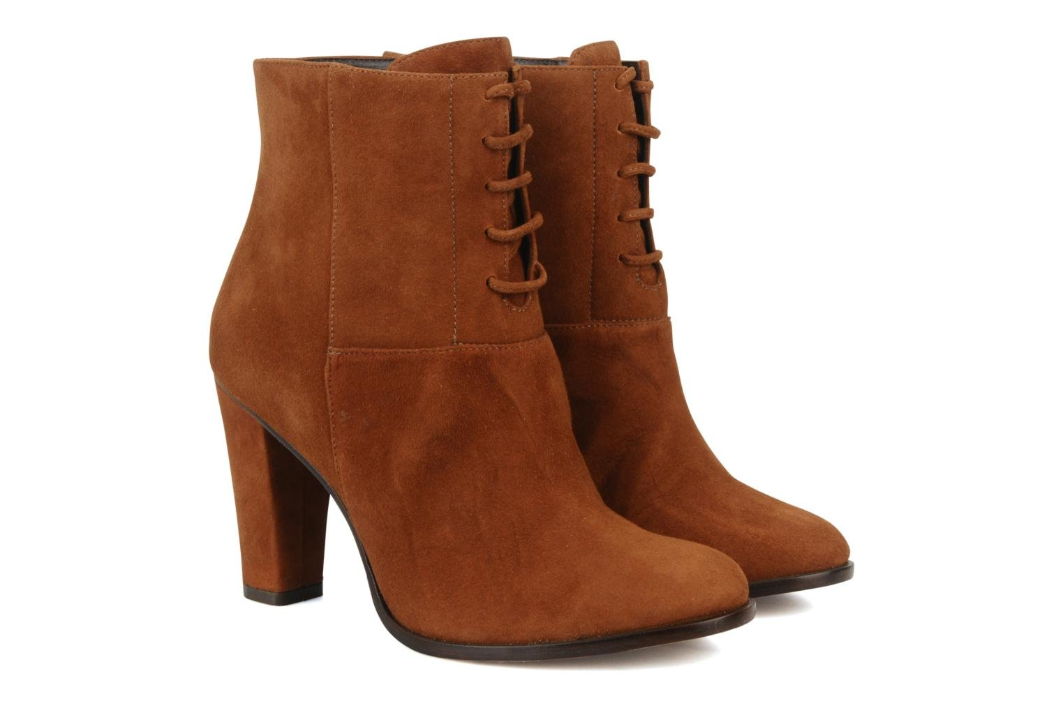 Booty corolle suede Roux