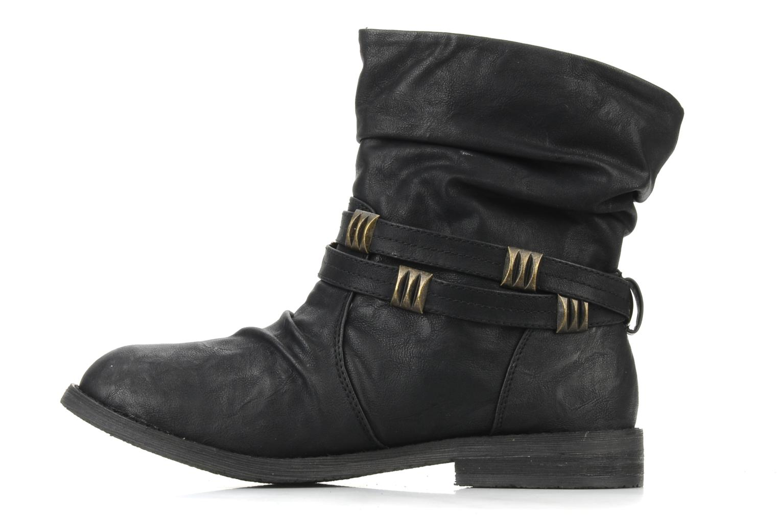 Ankle boots Blowfish Texas Black front view