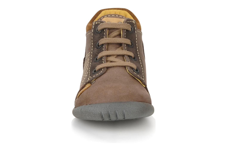 Bottines et boots Little Mary Ilboude Marron vue portées chaussures