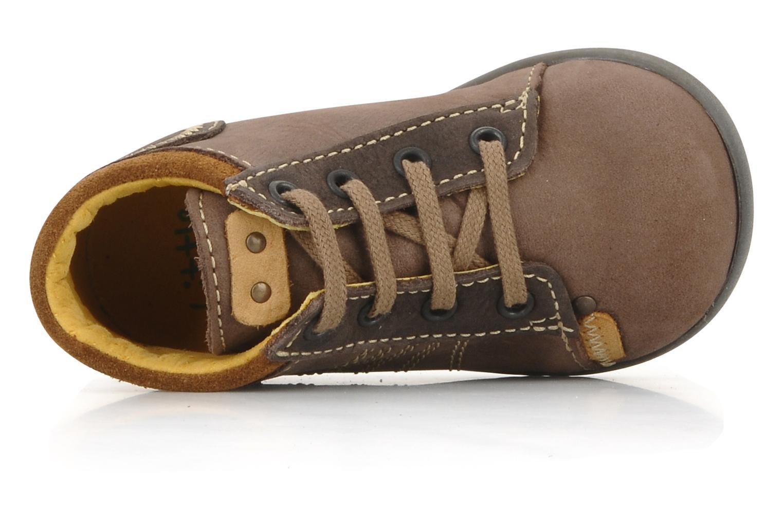 Bottines et boots Little Mary Ilboude Marron vue gauche