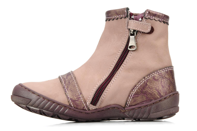 Boots en enkellaarsjes Little Mary Indienne Roze voorkant