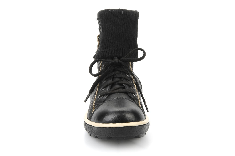 Baskets Rieker Hulla Z8760 Noir vue portées chaussures