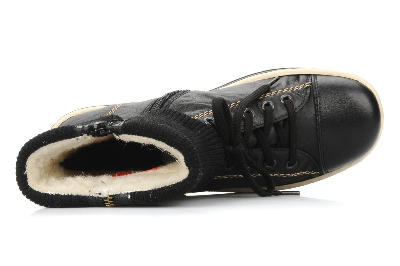 Sneakers Rieker Hulla Z8760 Zwart links