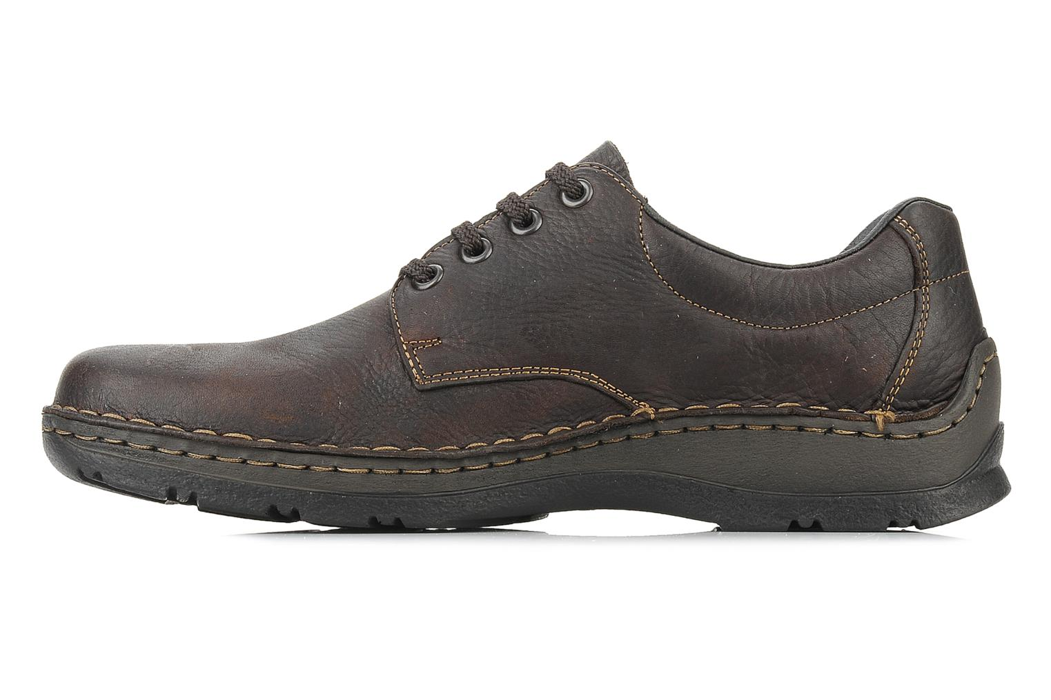 Lace-up shoes Rieker Riek 05310 Brown front view