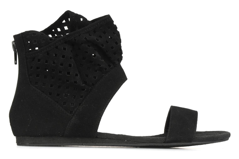 Sandales et nu-pieds Latinas Holly Noir vue derrière