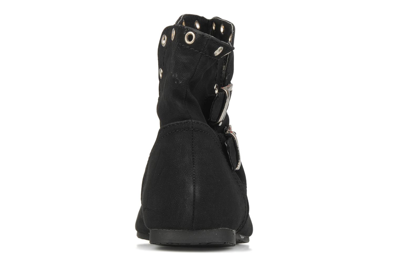 Boots en enkellaarsjes Latinas Boucli Zwart rechts