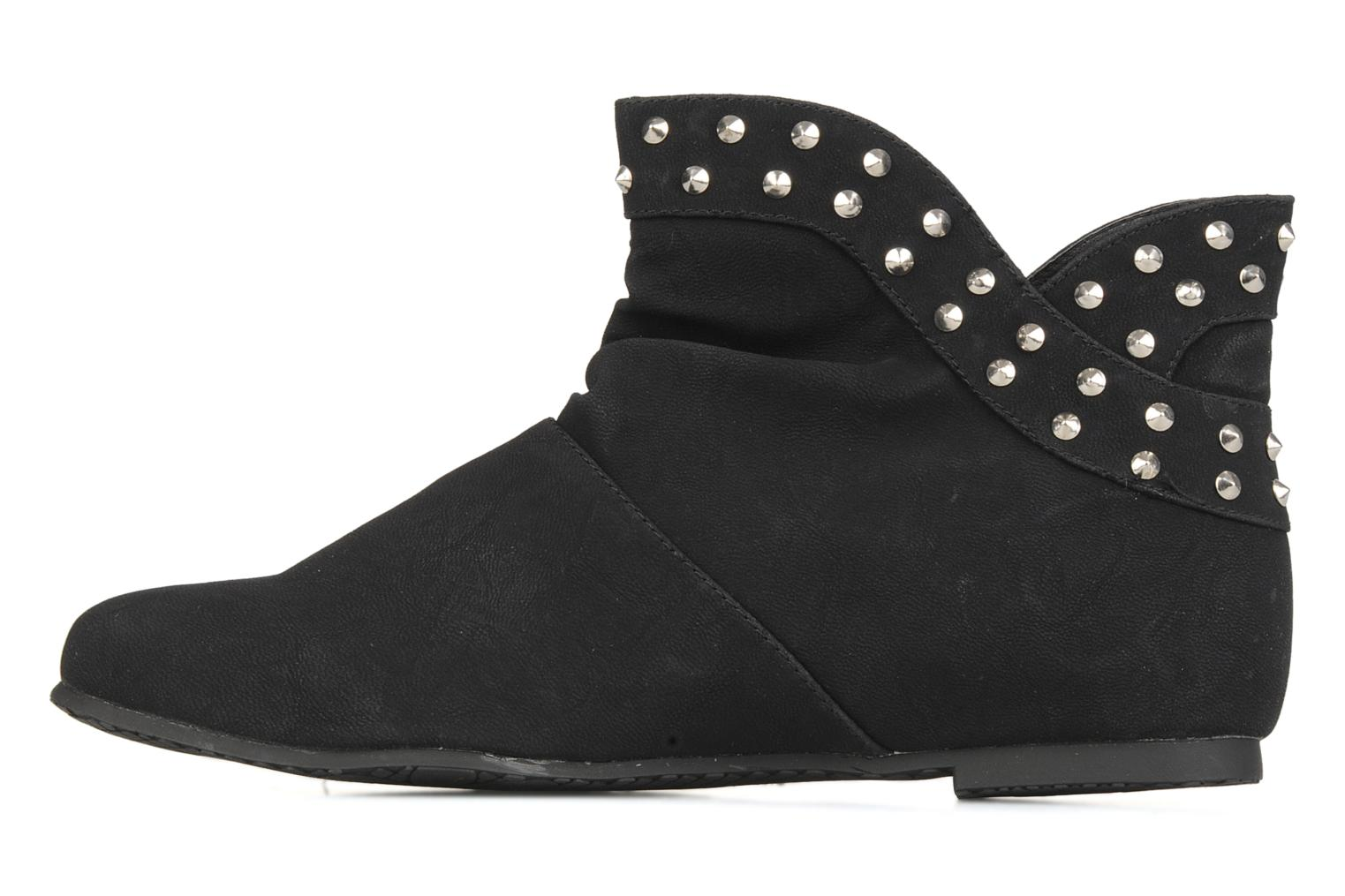 Ankle boots Latinas Botin Black front view