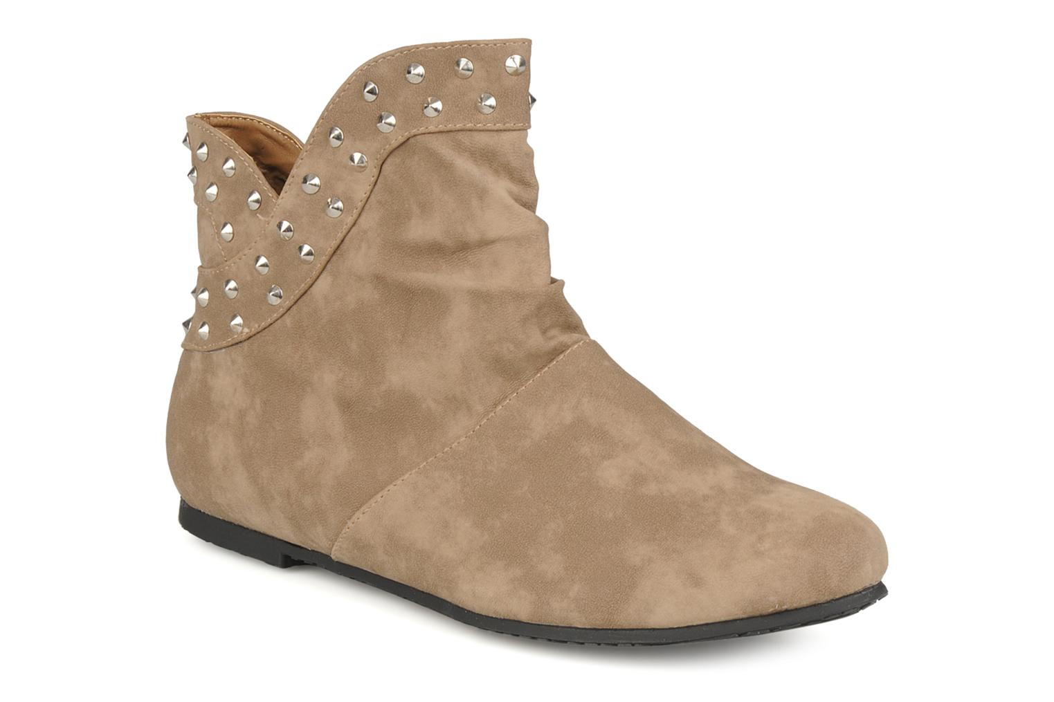 Ankle boots Latinas Botin Beige detailed view/ Pair view