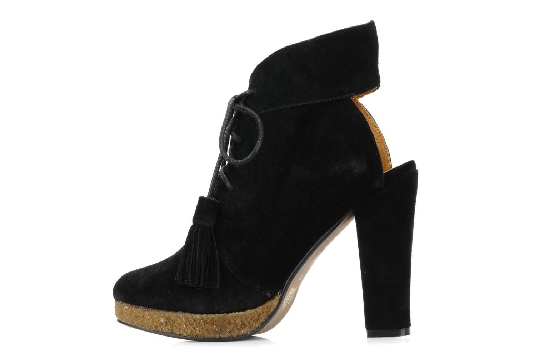 Boots en enkellaarsjes Friis & company Belinda Zwart voorkant