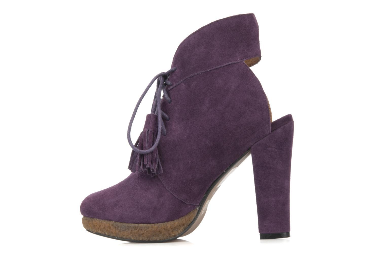 Stiefeletten & Boots Friis & company Belinda lila ansicht von vorne