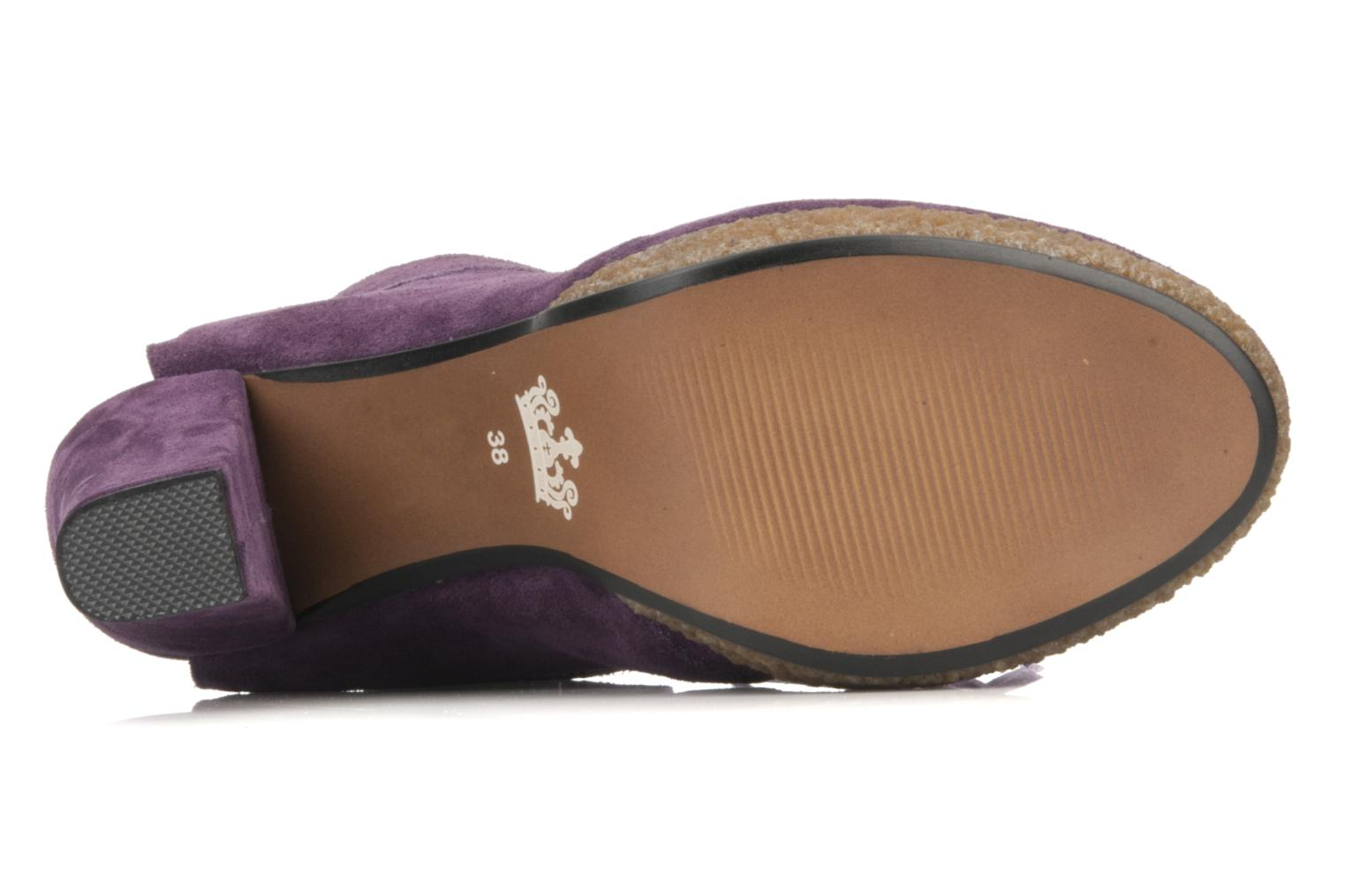 Ankle boots Friis & company Belinda Purple view from above