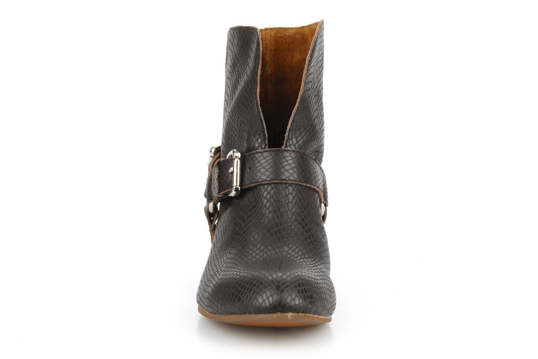 Bottines et boots Friis & company Beaneth Marron vue portées chaussures