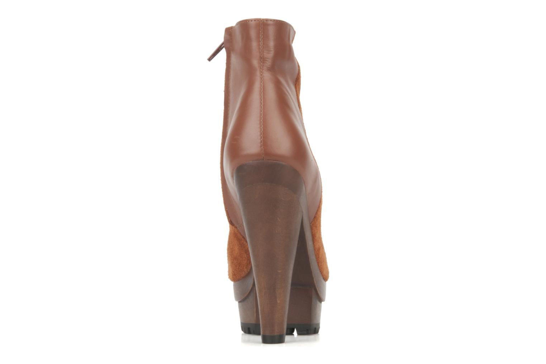 Stiefeletten & Boots Friis & company Beata braun ansicht von rechts