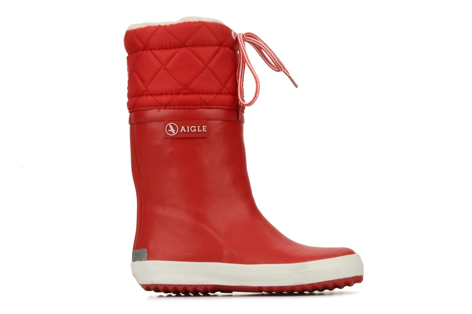 Boots & wellies Aigle Giboulée Red back view