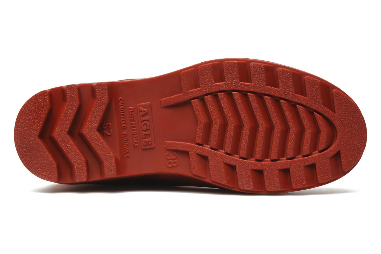 Laarzen Aigle Aiglentine Rood boven