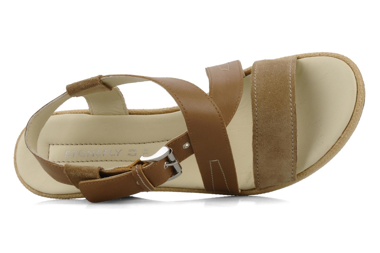 Sandales et nu-pieds Stonefly Only 14 Beige vue gauche