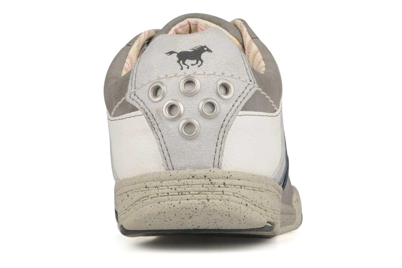 Trainers Mustang shoes Jilio Grey view from the right