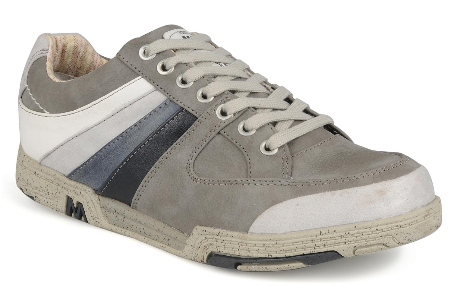 Trainers Mustang shoes Jilio Grey detailed view/ Pair view