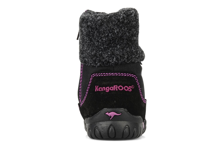 Stiefeletten & Boots Kangaroos Libby schwarz ansicht von rechts