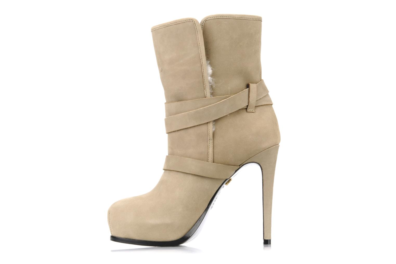 Bottines et boots Pour La Victoire Lizzie Beige vue face