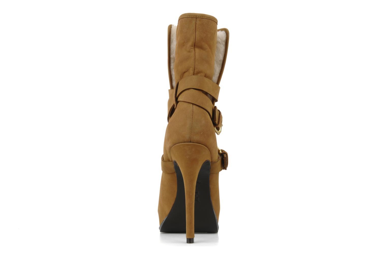 Bottines et boots Pour La Victoire Lizzie Marron vue droite