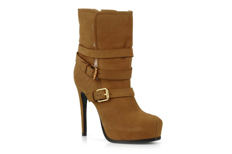 Bottines et boots Pour La Victoire Lizzie Marron vue détail/paire