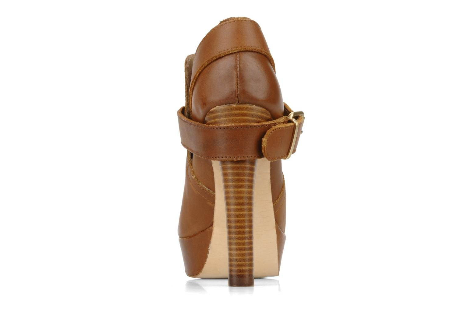 Ankle boots Pour La Victoire Amael Brown view from the right