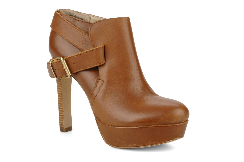 Boots en enkellaarsjes Pour La Victoire Amael Bruin detail