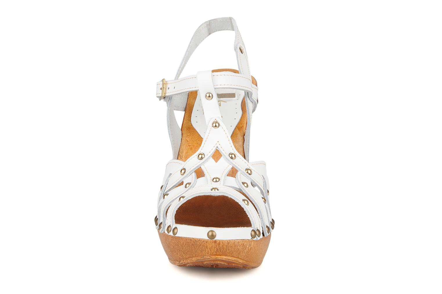 Sandals Mustang shoes Ruy White model view