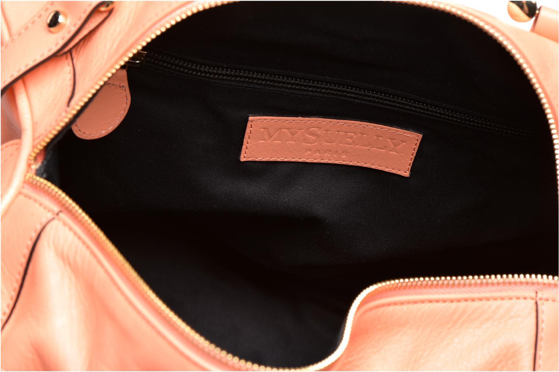 Handtassen MySuelly Alex Medium Oranje achterkant