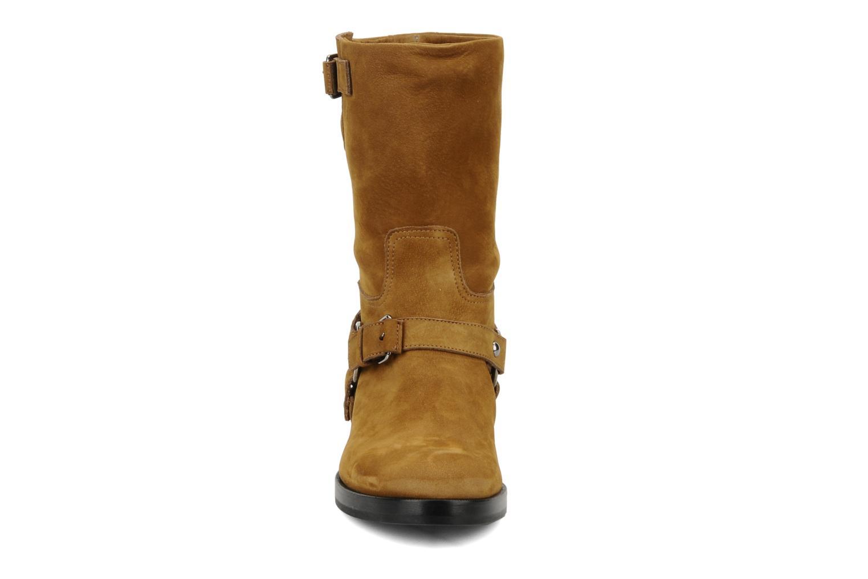 Bottines et boots Kéy Té By Kallisté Clorida Marron vue portées chaussures
