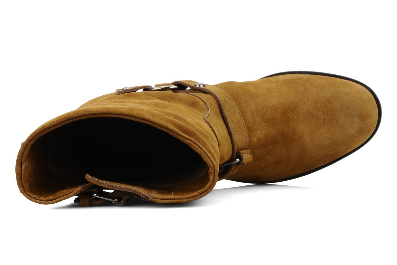 Bottines et boots Kéy Té By Kallisté Clorida Marron vue gauche