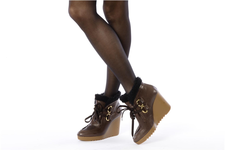 Boots en enkellaarsjes Kéy Té By Kallisté Donata Bruin onder
