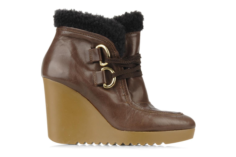 Boots en enkellaarsjes Kéy Té By Kallisté Donata Bruin achterkant