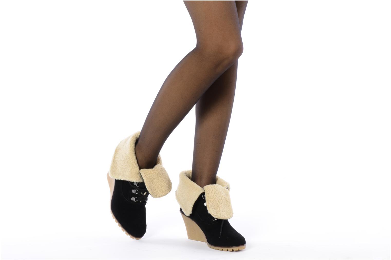 Stiefeletten & Boots Kelsi Dagger Francille schwarz ansicht von unten / tasche getragen