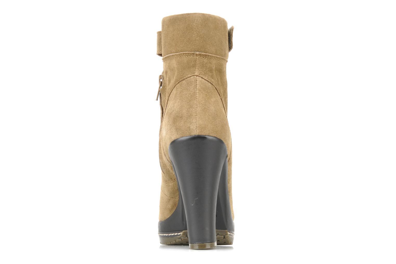 Boots en enkellaarsjes Kelsi Dagger Rane Beige rechts