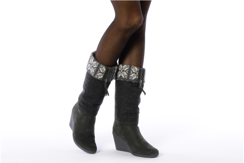 Stiefeletten & Boots No Name Choko ski bottes grau ansicht von unten / tasche getragen